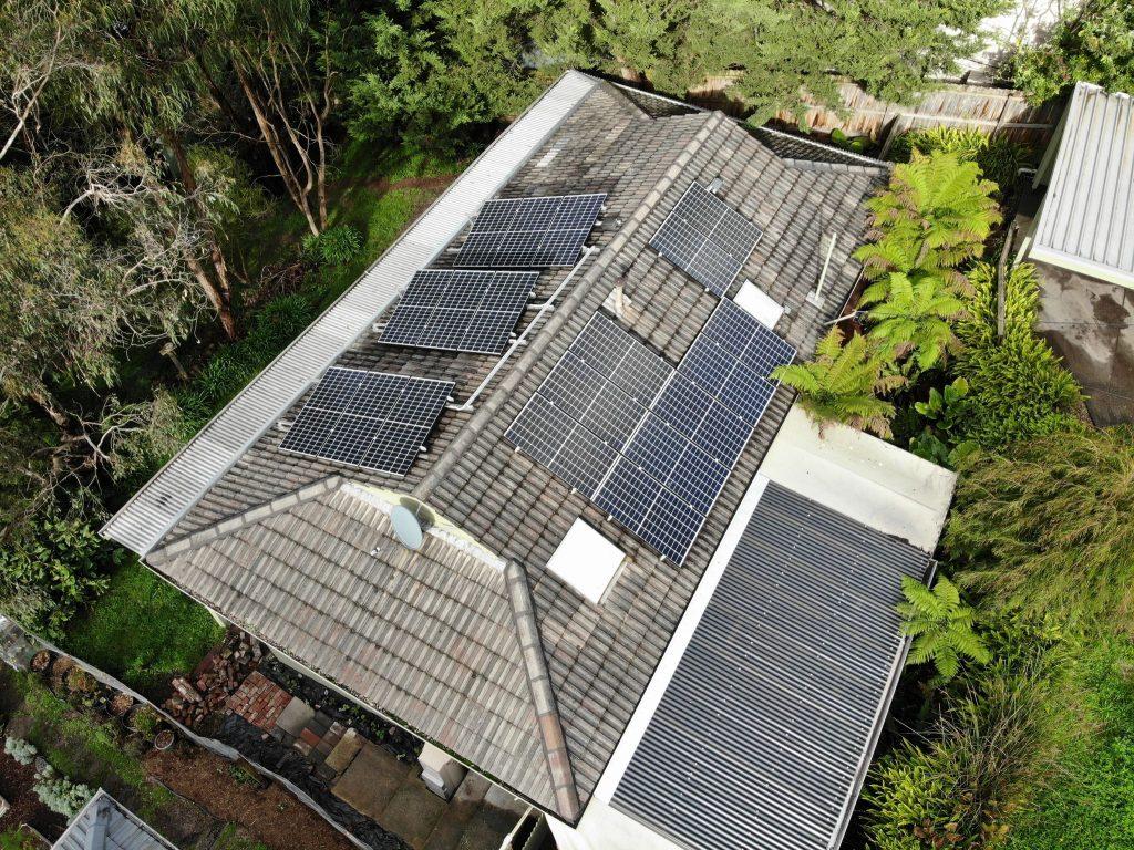 6.3 kW Residential Solar Installation - Lilydale